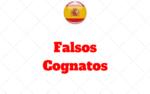 Falsos Amigos A B e C- Falsos Cognatos no Espanhol