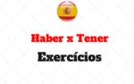 Haber x Tener: Exercícios para Treinar