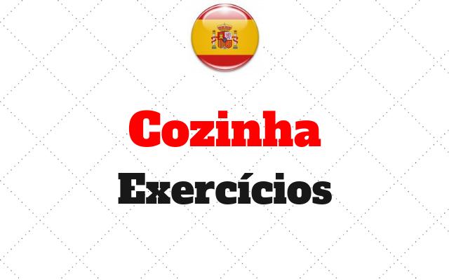 cozinha exercícios