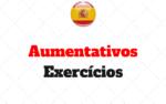 Aumentativos no Espanhol Atividades