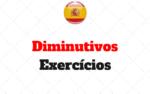 Diminutivos no Espanhol Atividades