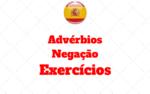 Atividades Advérbios de Negação Espanhol