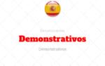 Demonstrativos Determinantes no Espanhol