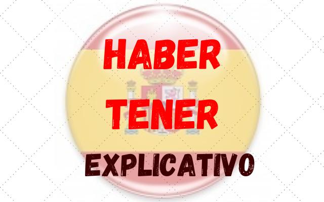 espanhol haber tener